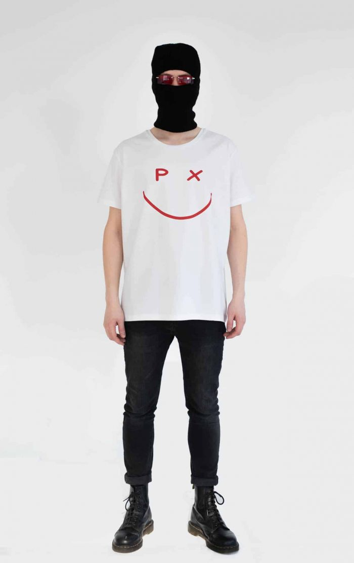 bns px white tee