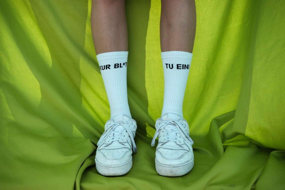 bns x lucka socks